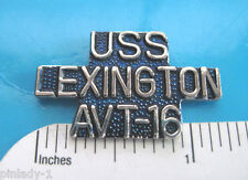 USS   Lexington AVT-16  - hat pin ,  lapel pin , tie tac , hatpin GIFT BOXED