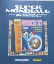SUPERMONDIALE=MEXICO 70=RIPRODUZIONE ALBUM PANINI=ITALIA=LA STAFFETTA
