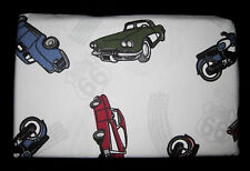 STANDARD - GT - Classic Cars, Motorcycles & Rt. 66 - TWO FLANNEL PILLOWCASES