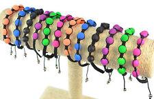 bracelet style shamballa  couleur au choix