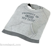 Property of Daddy Bib A Proud New Dad , baby Bib baby shower gift