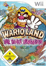 Wii Spiel Wario Land: The Shake Dimension (Nintendo Wii, 2008, DVD-Box)