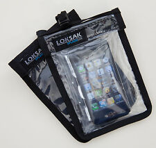 Aloksak Splashsak Phone Neck Caddie Black w/ Clear Front 4x6 Caddy Nc-P-Bk