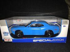 2006 Dodge Challenger Concept. Matte Blue. Exclusive 1:18 Maisto Die-Cast.