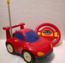 1995 vintage rare TOMY Remote Control RC Turbo Sport Rouge Racing Toy Voiture Garçons