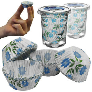 Essential Petit Four Floral Design Grease Proof Cup Cake Mini Muffin Sweet Cases