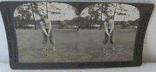 KEYSTONE STEREOVIEW OF HORTON SMITH (FIRST MASTERS CHAMPION)