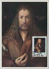 54313 - AJMAN - POSTAL HISTORY: MAXIMUM CARD - Art  RELIGION  Albrecht Dürer