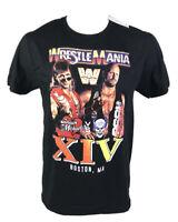 WWE Wrestlemania XIV 14 WWF Stone Cold Austin Shawn Michaels Mens Size Large NEW