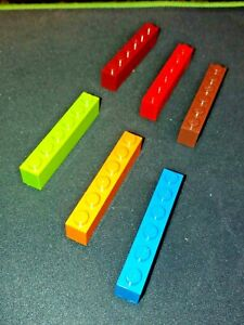 LEGO BRICK 1x6 (PACK OF 6) part no. 3009 SELECT COLOUR AND AMOUNT