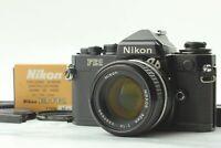 [EXC+5] Nikon FE2 35mm SLR Film Camera Black w/ Ai-s 50mm f1.4 Lens from JAPAN