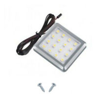 LED SQUARE SURFACE MOUNT KITCHEN UNDER CABINET CUPBOARD LIGHT COOL WARM WHITE