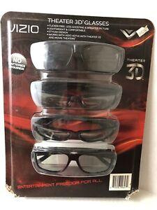 Vizio Theater 3D Glasses 4-pack