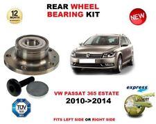 FOR VW PASSAT 365 ESTATE 2010-2014 NEW 1X REAR WHEEL BEARING KIT + BOLT