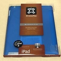 NEW, XtremeMac PAD-MS2-23 MicroShield Ultra-Thin Case for iPad 2, 3, 4- BLUE