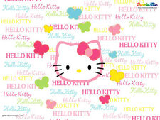 Hello Kitty Party Edible Birthday Cake Topper Frosting Icing 1/4 Sheet