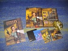 PC Deutsch ★ TOMB RAIDER 4 ★ Sammler BIG BOX und Lösungsbuch Tomb Raider IV