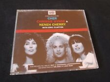 CHER Chrissie HYNDE Neneh CHERRY Eric CLAPTON Love Can Build CD SINGLE NO LP