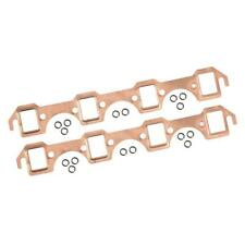 Mr Gasket Exhaust Manifold Gasket Set 7160; Copper for Ford SBF
