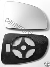 Right Driver Wing Mirror Glass Replacement CONVEX Vauxhall MERIVA A 2003-2010