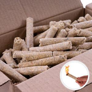 5kg Anzünder Kaminanzünder Holzwolle Grillanzünder Feueranzünder Presslinge NEU