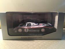 minichamps 1:43 Porsche 956 n.1 winner le mans 1982 rothmans no spark in scatola
