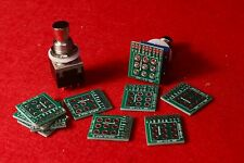 10pcs 9-pin 3PDT Guitar Effects Pedal Box Stomp breakout board