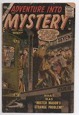 Atlas Marvel Comics Adventure Into Mystery #8 1957 Lower Grade