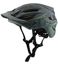 Troy Lee Designs Mountain Bike Helmet A2 MIPS; DECOY BLK/GRN MD/LG
