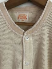 Vintage Eureka Wool/Rayon Union Suit Long Johns- dead stock 1940's