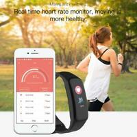 Smart Watch Band Bracelet Heart Rate Oxygen Monitor Fitness Tracker C1plus