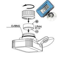 Digital LCD Waterproof Fish Aquarium Water Tank Temperature Thermometer Meter RD