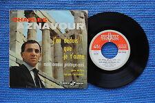 CHARLES AZNAVOUR / EP DUCRETET-THOMSON 460 V 457 / BIEM 07-1959 ( F )
