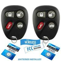 2 Replacement Keyless Remote Key Fob for 2001-2005 Pontiac Bonneville Grand Am