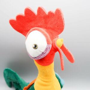 """Disney MOANA Plush Talking HEI HEI Chicken 13"""" Clucking/Screaming Up Down Plush"""