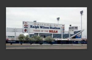 Buffalo Bills Ralph Wilson Stadium MAGNET - Vinyl NFL NY Bill Waterproof Car