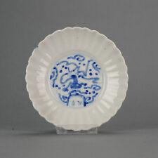 Nice 17C Japanese Arita Sometsuke Plate Edo Period Spring Autumn