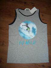 ärmelloses Shirt von H&M, Größe 146/152, grau, NEU!