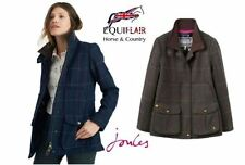 Zip Tweed Check Outdoor Coats & Jackets for Women