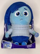 Tomy Disney Pixar Inside Out Sadness Blue Plush Toy