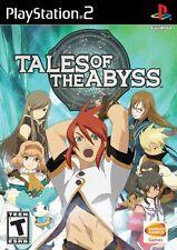 Tales Of The Abyss [PlayStation 2 PS2, NTSC, Namco Bandai Action JRPG] NEW