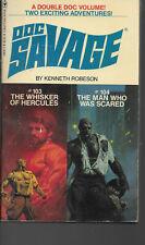 DOC SAVAGE  #103 & #104 KENNETH ROBESON  BANTAM BOOKS  1981 REISSUE  2 in 1 vol