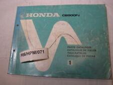 HONDA CB900 Fz  CB900Fz PARTS LIST NR1 CATALOGUE