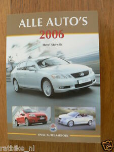 ALLE AUTO'S 2006,ALL CARS TVR TUSCAN,VD BRINK CARVER,MERCEDES SL500 AMG,JEEP CHE