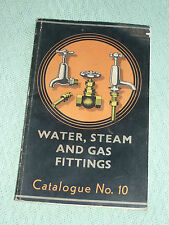 JOHN RUSSELL WATER STEAM GAS FITTINGS CATALOGUE 10 - 1949 (PLUMBERS TAPS VALVES)