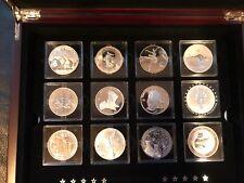 2013 Fabulous 15 Famous Silver Coins Bullion 1 Oz Canada Set RCM with COA F15