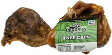 RedBarn Beef Bone Knee Cap All Natural Oven-Roasted Dog Chew 2 Pack