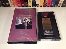 The Four Horsemen Of The Apocalypse WWII Drama VHS 1962 Glenn Ford Ingrid Thulin