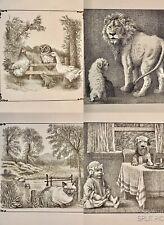 """Maurice Sendak Original Lithographs """"Little Bear"""" and """"Higglety Pigglety Pop"""""""