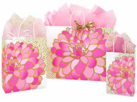 GILDED BLOOMS Design Party Gift Paper Bag ONLY Choose Size & Pack Amount